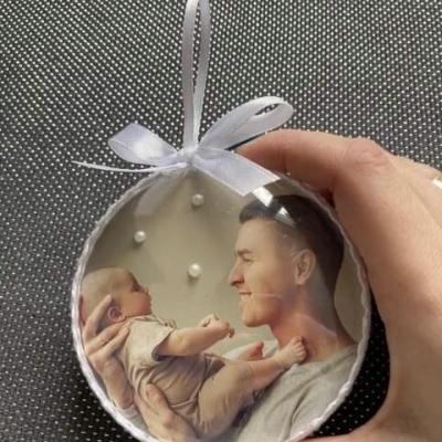Personalizované vianočné gule