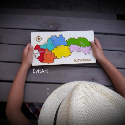Puzzle Slovensko