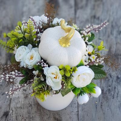 Jesen v bielom šate.