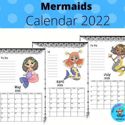 Mermaids - calendar 2022