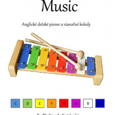 Music- predloha na hru na xylofóne (A)-  Anglické detské piesne a koledy