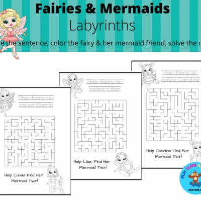 Fairies & Mermaids - labyrinty