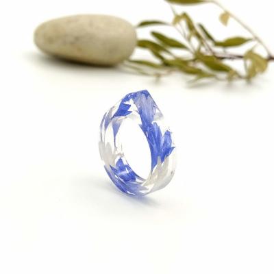 Živicový prsteň _ Blue