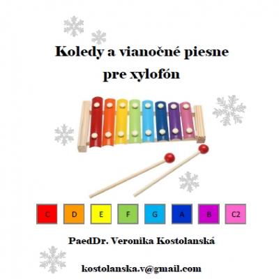 Koledy a vianočné piesne pre xylofón (B)