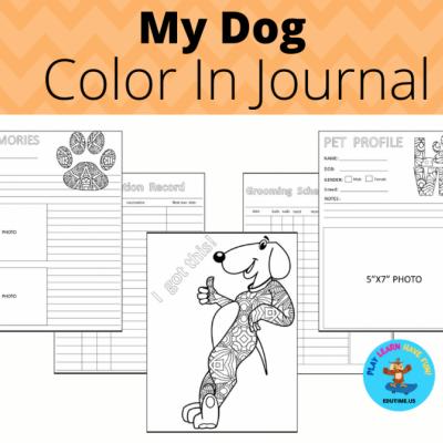 My Dog - journal