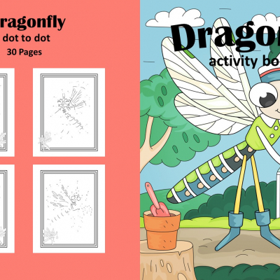 Dragonfly - dot to dot