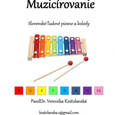 Muzicírovanie- predloha na hru na xylofóne (B)- Slovenské ľudové piesne a koledy