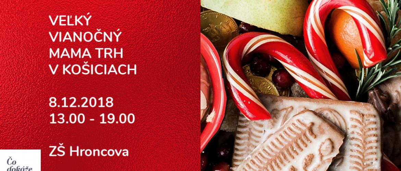 Veľký Vianočný Mama trh v Košiciach