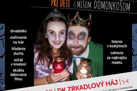 Kráľovský Halloween s Michalom Domonkošom a Natáliou Kóšovou