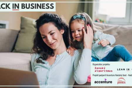 BEZPLATNÝ program pre ženy po materskej: BACK IN BUSINESS