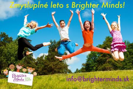 Anglické bilingválne tábory BRIGHTER MINDS 2019