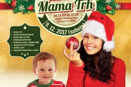 Vianočný Mama trh na Hroncovej v Košiciach