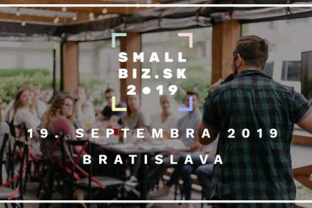 SMALLBIZ.sk 2019: Konferencia pre začínajúcich podnikateľov a handmade tvorcov