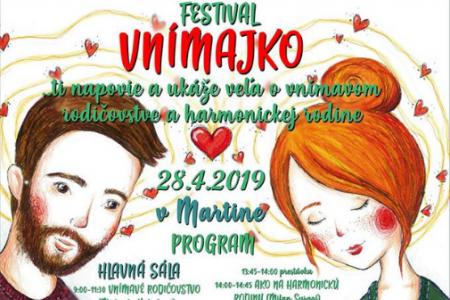 Festival Vnímajko v Martine