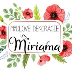 Mydlové dekorácie Miriama